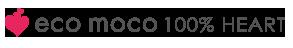 エコモコ100%ハート( ecomoco)・モコモコタオル