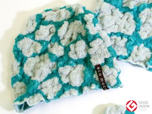 Baby ecomoco animal Towel Cap / ベビーエコモコアニマルタオルキャップ