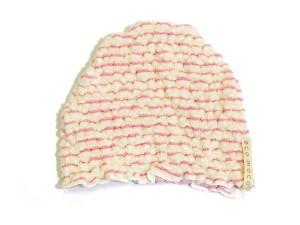 BABY MOCOMOCO Boder Towel Cap / ベビーモコモコボーダータオルキャップ