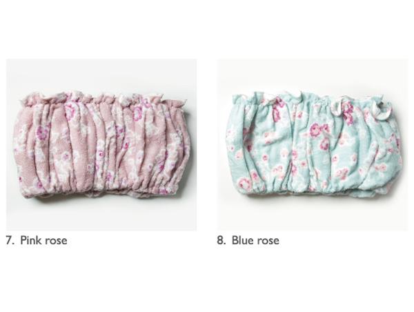 Cabbage Hair Towel 選べるローズ柄2色