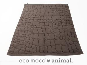 吸水性抜群!ecomoco animal / クロコダイル バスマット