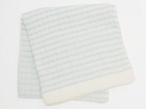 6重 Gauze border Bath towel / 6重ガーゼボーダーバスタオル