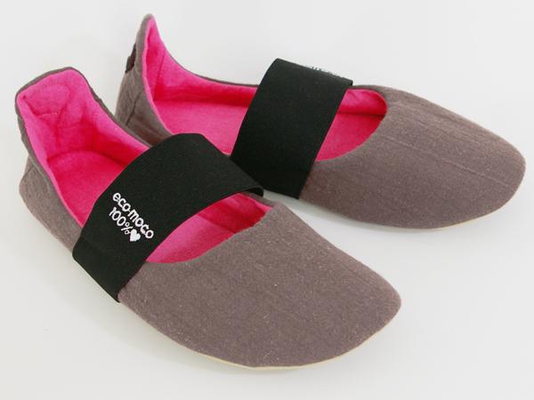 Linen Band Room Shoes / リネンバンドバブーシュ風ルームシューズ