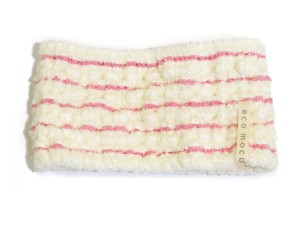 MOCOMOCO Boder Towel Hair Band / モコモコボーダータオルヘアーバンド
