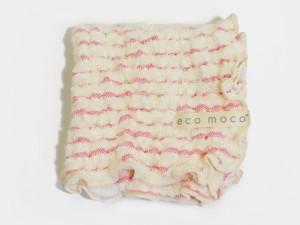 MOCOMOCO Boder Towel / モコモコボーダータオルミニハンカチ