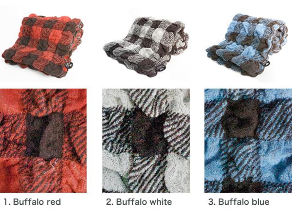 バッファローチェックバスタオル・Buffalo check bath towel