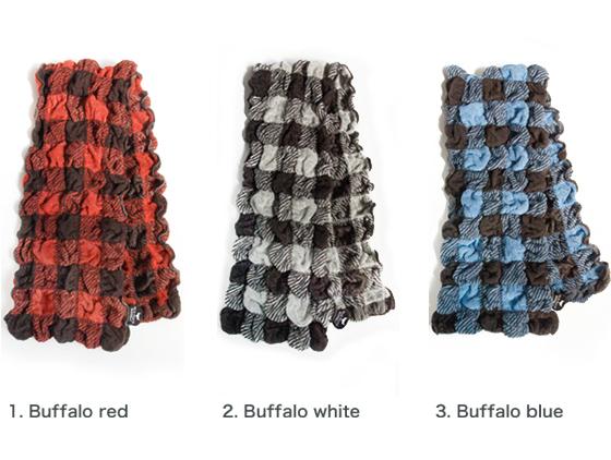 バッファローチェックロングフェイスタオル・Buffalo check long towel バリエーション